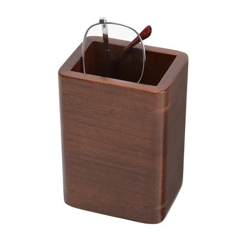 国産木製メガネスタンド・ペンスタンドおしゃれ