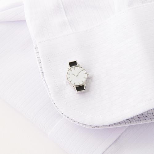 アクセサリー感覚で、カジュアルなムードが漂うデザインで、個性や遊び心 をさりげなく演出できます。男性へのプレゼントに。 【ラッキーシール対応】 クーポン発行中 【カフスボタン カフスリンクス】カフス 腕時計(700-001)【メンズ ファッション コレクション パーティ おしゃれ 時計 ギフト プレゼント クリスマス 父の日 記念日 アクセサリー オシャレ 敬老の日 昇進祝い 結婚式 人気 おすすめ】