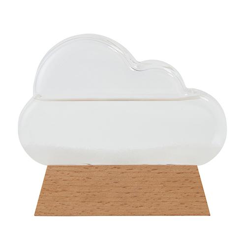 気象計サイエンス科学ガリレオストームグラスクラウド雲気象計天気予報結晶ナチュラルオシャレ333-274FunScience
