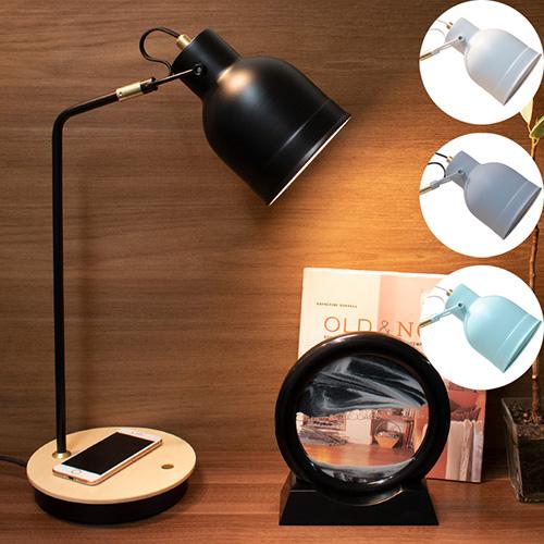 【LEDテーブルタッチランプ】インテリア ランプ 照明 テーブルランプ テーブルライト おしゃれ ギフト 母の日 父の日 クリスマス 人気 入学 ワイヤレス充電器 かわいい
