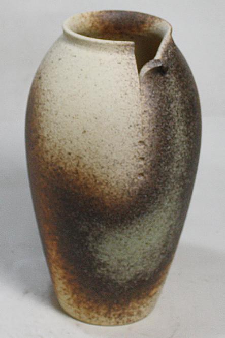 12号 古陶壺型破れ 花入 信楽焼 陶器 花入れ 花器 花入 花瓶彩り屋