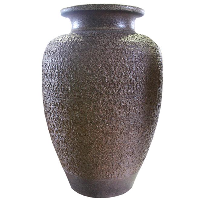 20号 窯肌松皮壺型 花瓶 信楽焼 陶器 花入れ 花器 花入 花瓶彩り屋スーパーセール 10%OFF