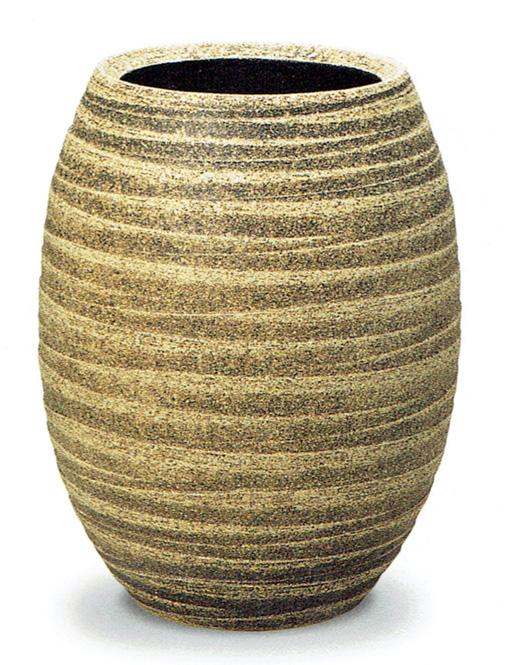 ファラオ【白砂釉】 信楽焼 陶器 花入れ 花器 花入 花瓶 彩り屋_