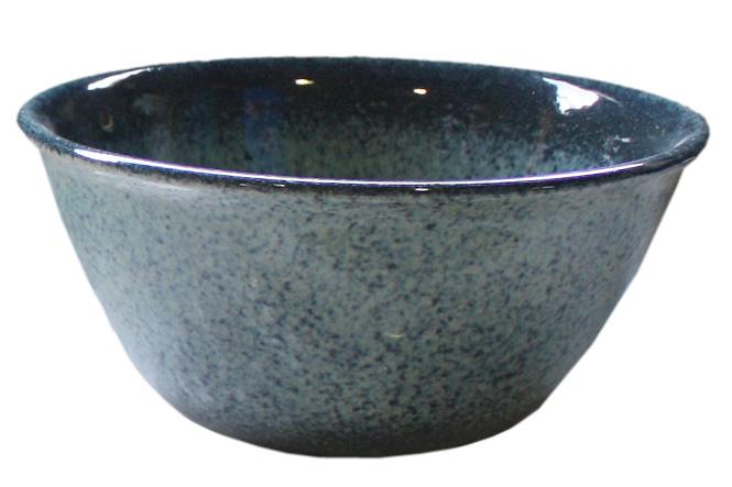 睡蓮鉢 メダカ鉢 ブルー斑点めだか鉢10号 信楽焼 めだか鉢 水鉢 金魚鉢 ビオトープづくりに 水連鉢 すいれん鉢彩り屋