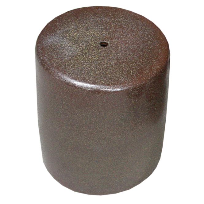 信楽焼 ガーデンテーブル スツール1点 20号 火色斑点テーブルセット 陶器 テーブル彩り屋スーパーセール 10%OFF