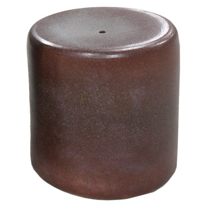 信楽焼 ガーデンテーブル スツール1点 15号 火色斑点テーブルセット 陶器 テーブル彩り屋
