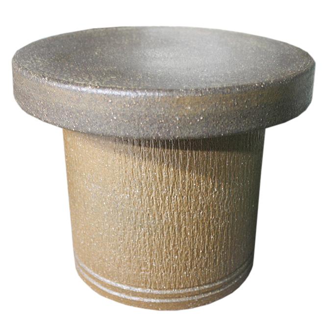 窯肌トチリ 花台 7号信楽焼 陶器 ガーデニング 花台 アウトドア彩り屋