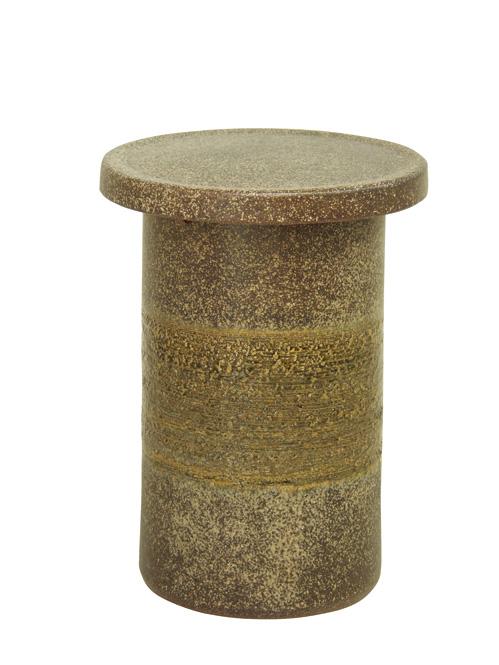 窯肌花台14号信楽焼 陶器 ガーデニング 花台 アウトドア 彩り屋