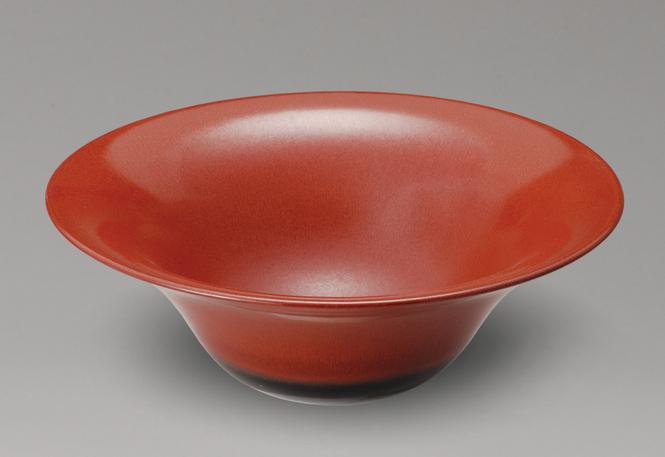 朱赤手洗鉢信楽焼 陶器 手洗鉢 ガーデンパン 洗面ボウル 彩り屋