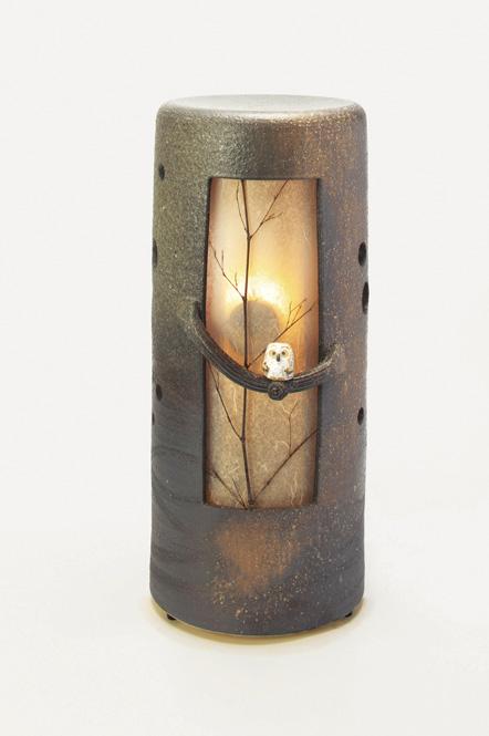 信楽焼 涼風 音照明 灯り 陶器彩り屋