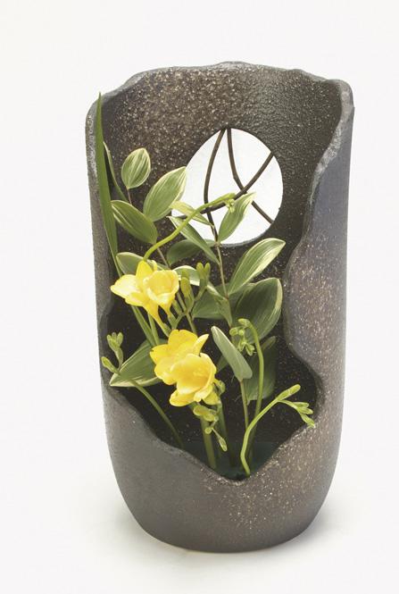 信楽焼 花ノ袖 花器 花入 花瓶 陶器 花入れ彩り屋