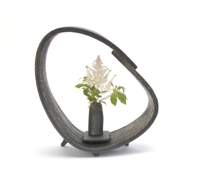 信楽焼 花かご ついたて 花器 花入 花瓶 陶器 花入れ彩り屋