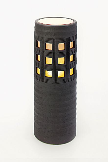 信楽焼 スクウェアライト Square Light 屋外用彩り屋