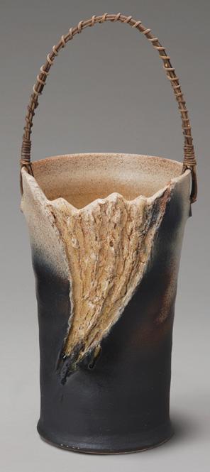 傘立て 陶器 信楽焼 窯肌つる付 傘立