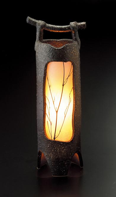 人気の定番 送料無料 信楽焼 購買 陶器 置物 室内照明 灯り 10%OFF 手桶あかり信楽焼 灯り彩り屋スーパーセール