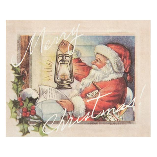 裏面には日本語でメッセージが綴られています ギフトに添えて贈れば喜ばれること間違いなし 1セット2枚 クリスマスカード 日本語 新作製品、世界最高品質人気! サンタ サンタさんからの手紙 新作入荷 クリスマスアンティークサンタカード メッセージ入りカード クリスマス ミニレター Xmasラッピング ラッピング 手紙 カード レター メッセージカード ミニカード ギフトカード クリスマスプレゼント