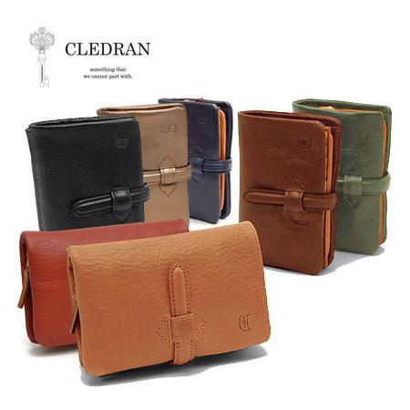 クレドラン CLEDRAN アドレ 二つ折り 財布 日本製 レディース S-6218