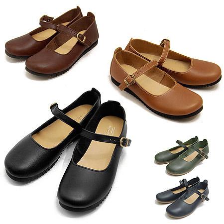クレドラン CLEDRAN オイルレザーシューズナロウ NARROW ストラップシューズ 本革 革 レディース CL-1430 靴 ブランド プレゼント 母の日