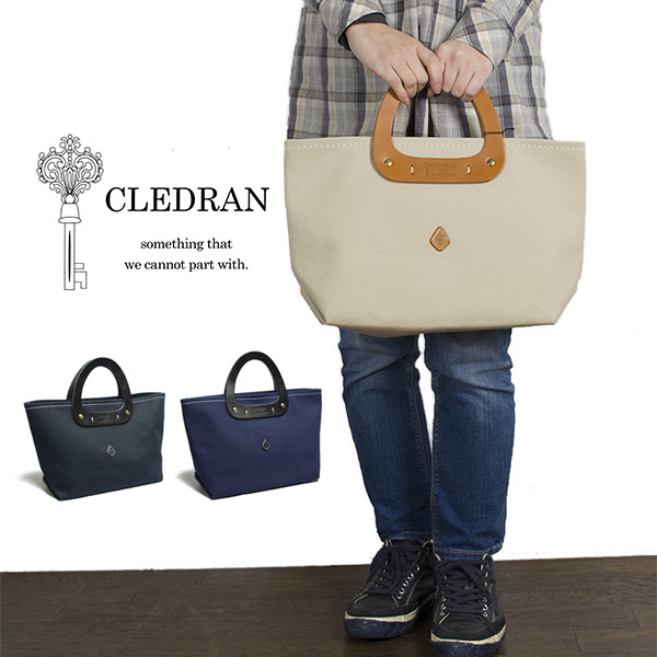 13e7845f1bbb Creed orchid CLEDRAN triangle Thoth craft factory tote bag handbag bag L  size grain Lady's CFT ...