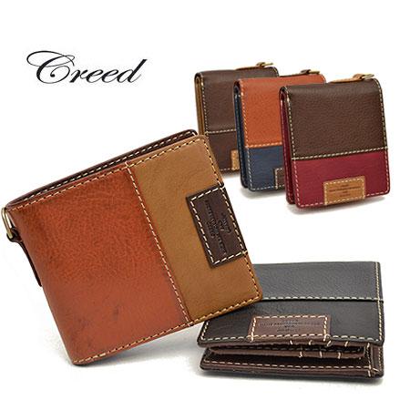 【500円クーポン対象】クリード CREED 財布 メンズ 二つ折り財布 シナー 折財布 SYNER 312C788