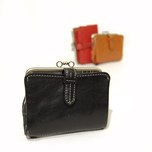 ダコタ Dakota クラプトン がま口 財布 小銭入れ 二つ折り レディース 0035101
