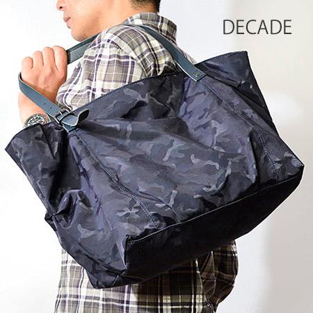 ディケイド DECADE ジャガードナイロン コンビ トートバッグ メンズ カモフラージュ DCD-00692 ブランド ビジネス ビジネスバッグ 迷彩