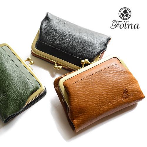 フォルナ Folna がま口 財布 小銭入れ 二つ折り レディース 2993666 大容量