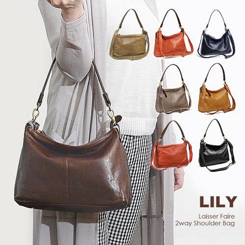 【500円クーポン対象】リリー LILY クール 2way ショルダーバッグ 日本製 レディース 610025