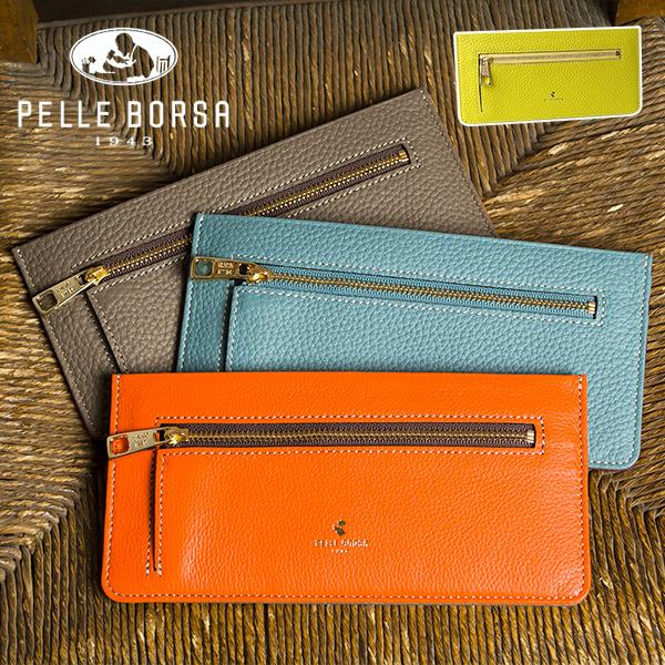 ペレボルサ PELLE BORSA レネット Reinette 長財布 スリム 薄い 薄型 レディース 本革 革 ブランド 日本製 4708 大容量