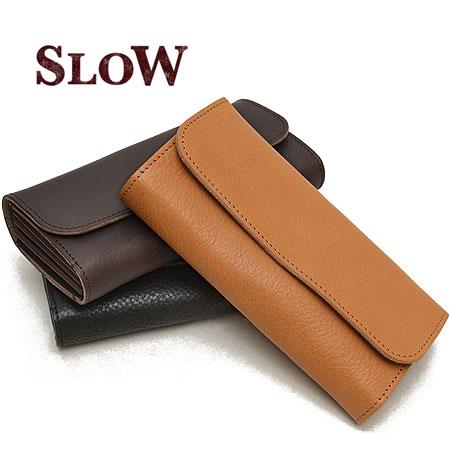 スロウ SLOW ボーノ bono フラップ 長財布 栃木レザー 本革 革 メンズ 333S24C ブランド