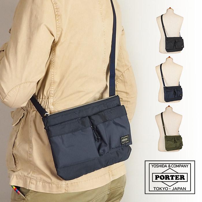 ポーター PORTER 吉田カバン フォース FORCE ショルダーバッグ【S】 ポシェット メンズ ブランド 855-05458