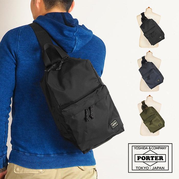 ポーター PORTER 吉田カバン フォース FORCE スリングショルダーバッグ ボディバッグ メンズ ブランド 855-05459