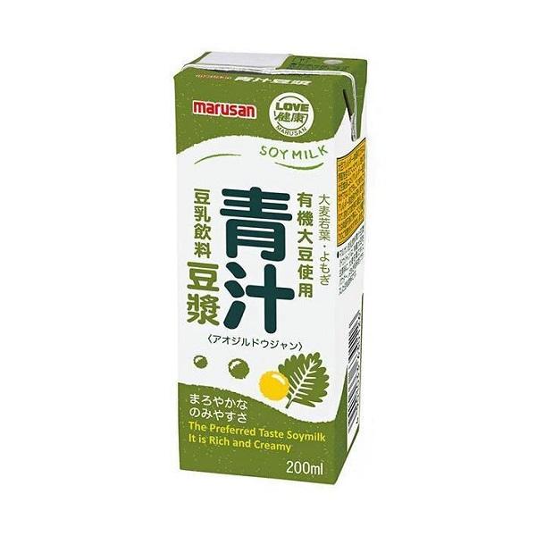 青汁豆ジャン 200ml×12個セット  マルサン
