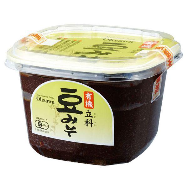 新品未使用正規品 代金引換でのお支払いも可能です 有機立科豆みそ セールSALE%OFF 750g オーサワジャパン