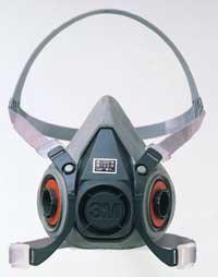 6000 3M gas mask countenance