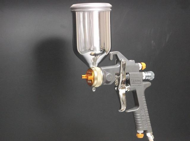 空气喷枪油漆原子原子 S.C (特别法庭) + 生态杯 250 cc 1 集的大小 1.2、 1.4 毫米 1 鼎有限公司聪 Hiroshi 股份左撇子基于固体克 3 外套珍珠色克支持
