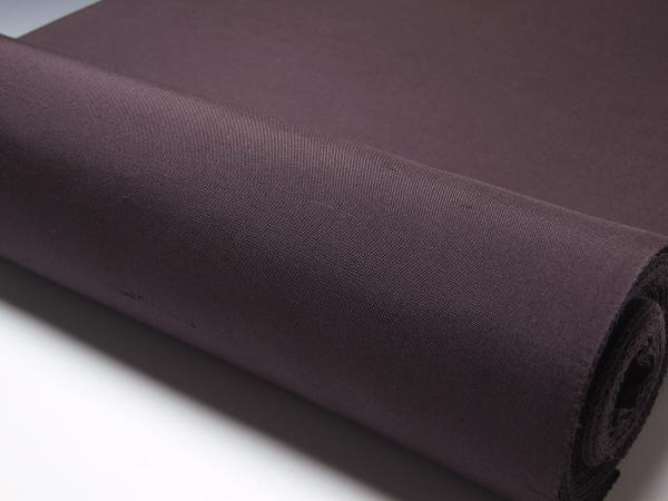 裄の長めの方の為の紬色無地 尺一寸広巾焦茶