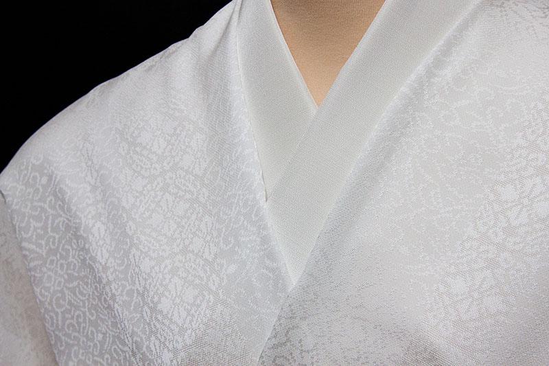 着尺 紋紗地 丹後産 小葵唐草文 広巾 誂え染