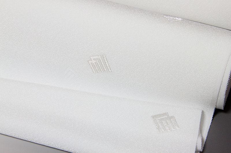 《銀縫取パージョン》裾に源氏香が銀糸で上品にあっさりと配置されております。 色無地 付下げ柄 縫取源氏香文 誂え染