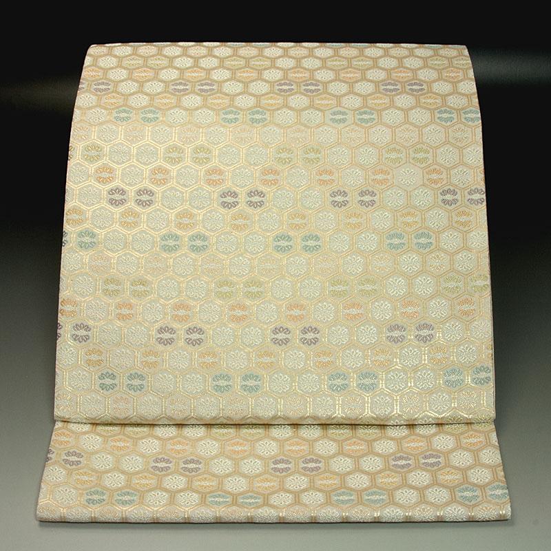 西陣織華佐竹 袋帯 有職亀甲文