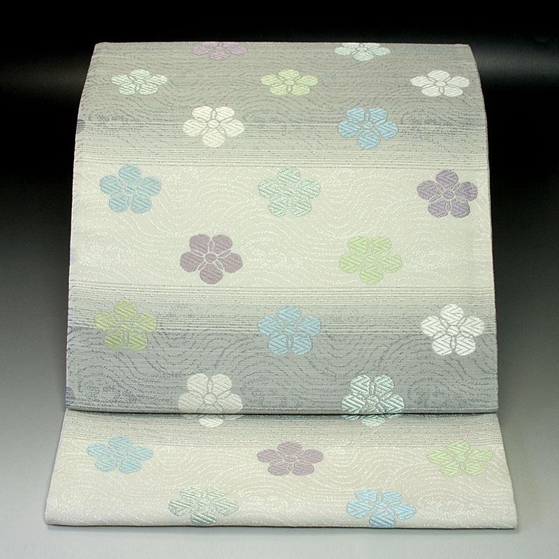 西陣桜井 袋帯 織部好み