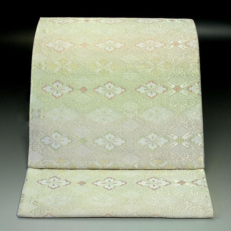 西陣亀井織物 袋帯 有職菱文