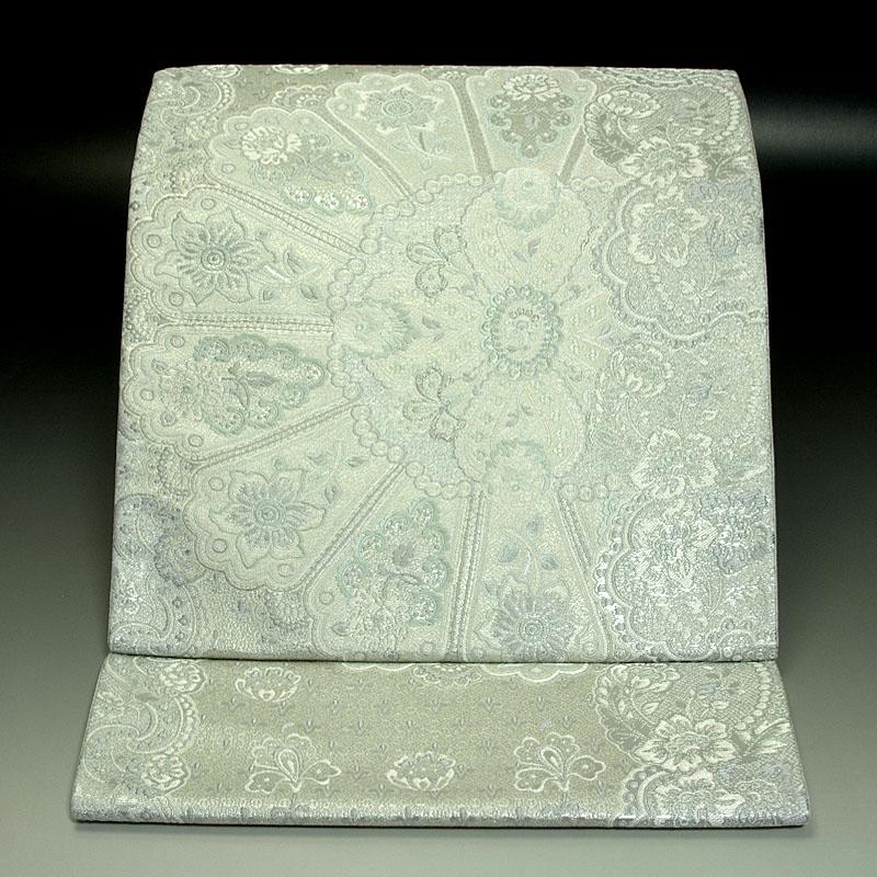 西陣となみ織物 袋帯 更紗文