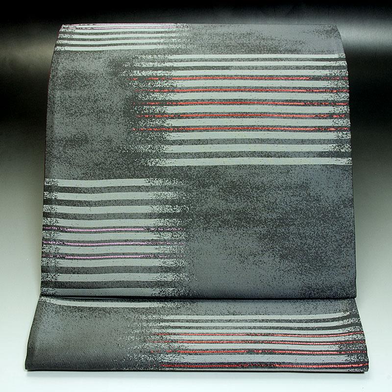 京都 袋帯 幾何学文