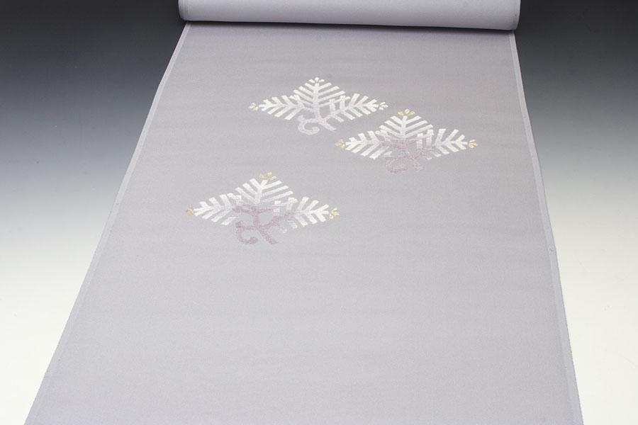 名古屋帯 日本刺繍 松文