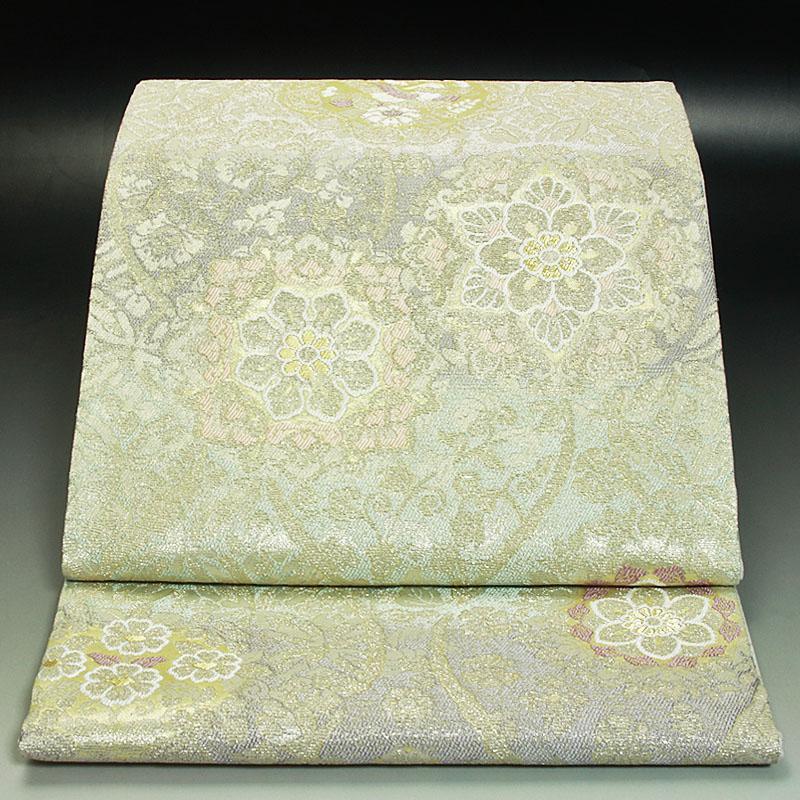 西陣弥栄織物袋帯 金華山ぎんれい