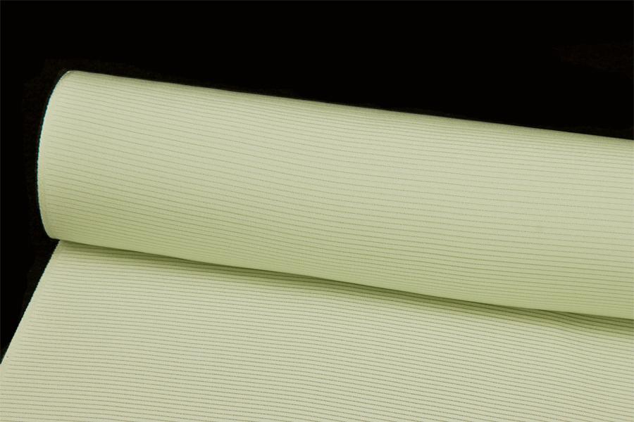 色無地夏用 皇室献上絹 五本駒絽 重目 オパールグリーン