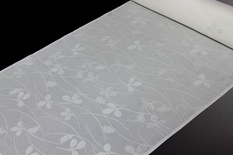 正絹長襦袢 丹後産 紋紗織 萩文