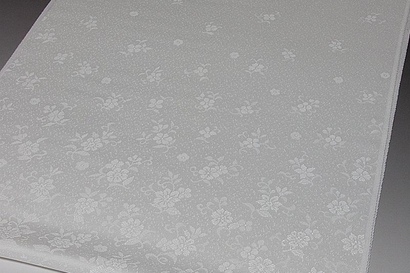 色無地 付下げ紋意匠 更紗唐草文 誂え染め【反物1反・正絹胴裏1枚・正絹共色別八掛1枚のセット】