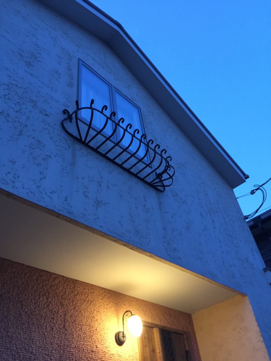 転落防止 店舗 おしゃれ 2階 リフォーム ロートアルミ 軽い 専用ビス付き窓 アルミ製 錆びない 外壁 「かぼちゃ型のフラワーボックス1820」 フラワーポット 花台 花置き 新築 ブルーティアラ